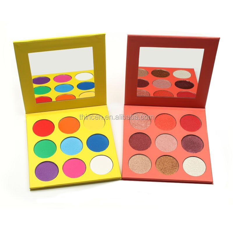 New Products 2020 Makeup Luxury Compact Pigmented 9 Eyeshadow Palette