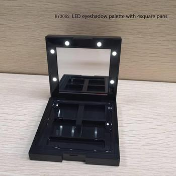 led eye shadow palette custom color shades