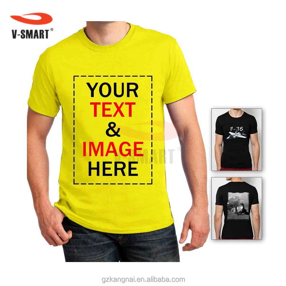 Wholesale t shirt printing artee shirt for T shirt designing and printing