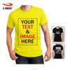 Unisex Custom T Shirt Printing OEM Design Wholesale as Company Uniform / Promotional Gift