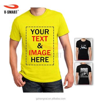 32eb93f68b Unisex Custom T Shirt Printing OEM Design Wholesale as Company Uniform /  Promotional Gift