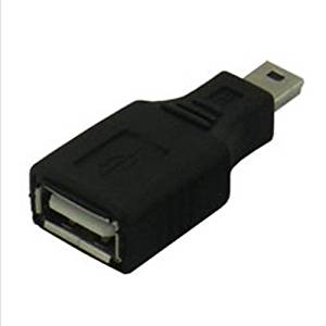 USB Conversion - TOOGOO(R) 10 pieces Conversion expert USB A (female) - mini USB (male) USB AB-M5AN