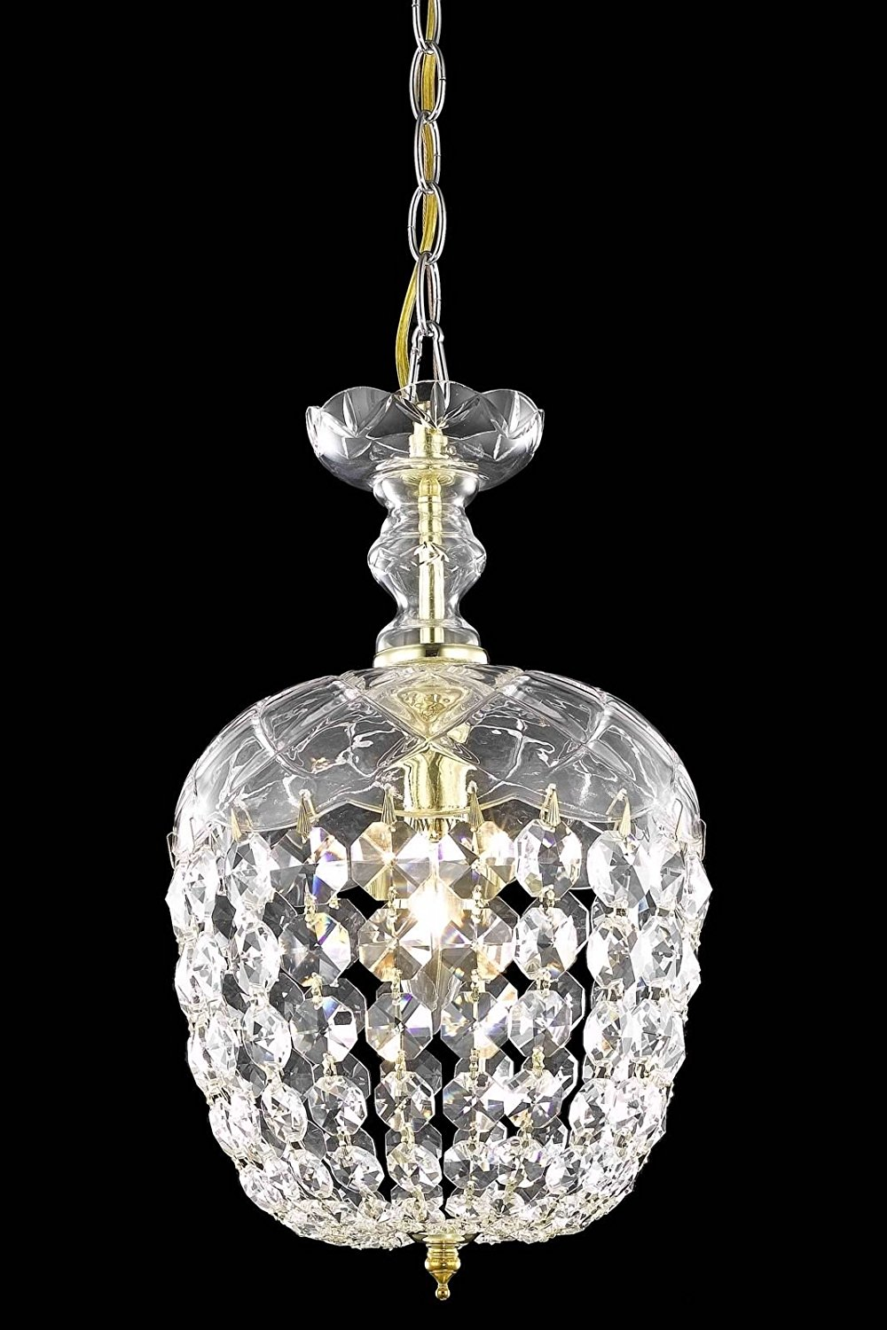 Cheap gold new empire chandelier find gold new empire chandelier get quotations usa warehouse 1 light 8x135 empire style gold arubaitofo Gallery