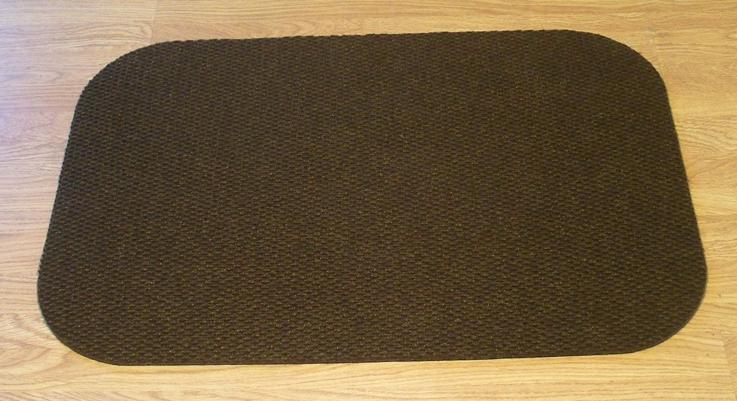 """Landing Mat for Essential Carpet Stair Treads - Style: Berber - Color: Brown - Size: 24"""" x 36"""""""