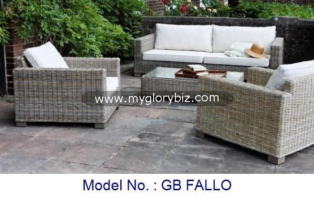 Garden Set Outdoor Furniture Modern