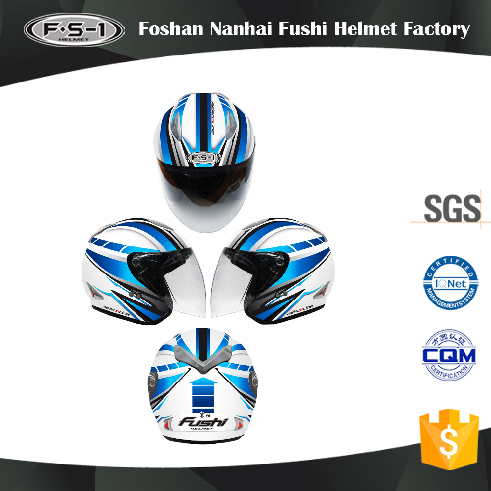 Unique DOT Open Face Motorcycle Helmet ,GSB full face helmet