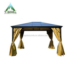 3X3.65M luxury leisure rome sunshine board gazebo for sale