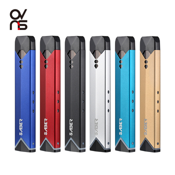 Ovns Saber Starter Kit,400mAh Battery,1.8ml Capacity Pod Vape Pen,CE/TPD Approved