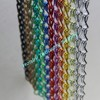 Anodized Aluminum Metal Door Chain Curtain Factory