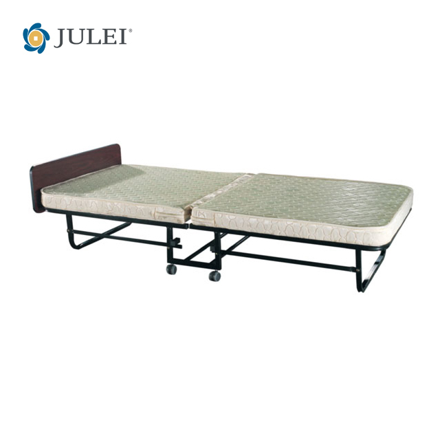 New Foldable Guest Bed Single Portable Folding With Mattress
