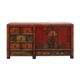 chinese antique reproduction furniture painted cabinet