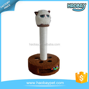 Made in China superior quality funny cat tree natural