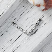 Zinc Based Alloy Chevron Connectors V-shaped Antique Silver Jewelry Connector Wholesale