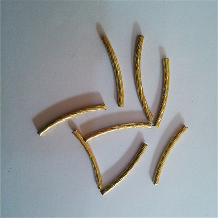 Jewelry supplies brass tube made in China