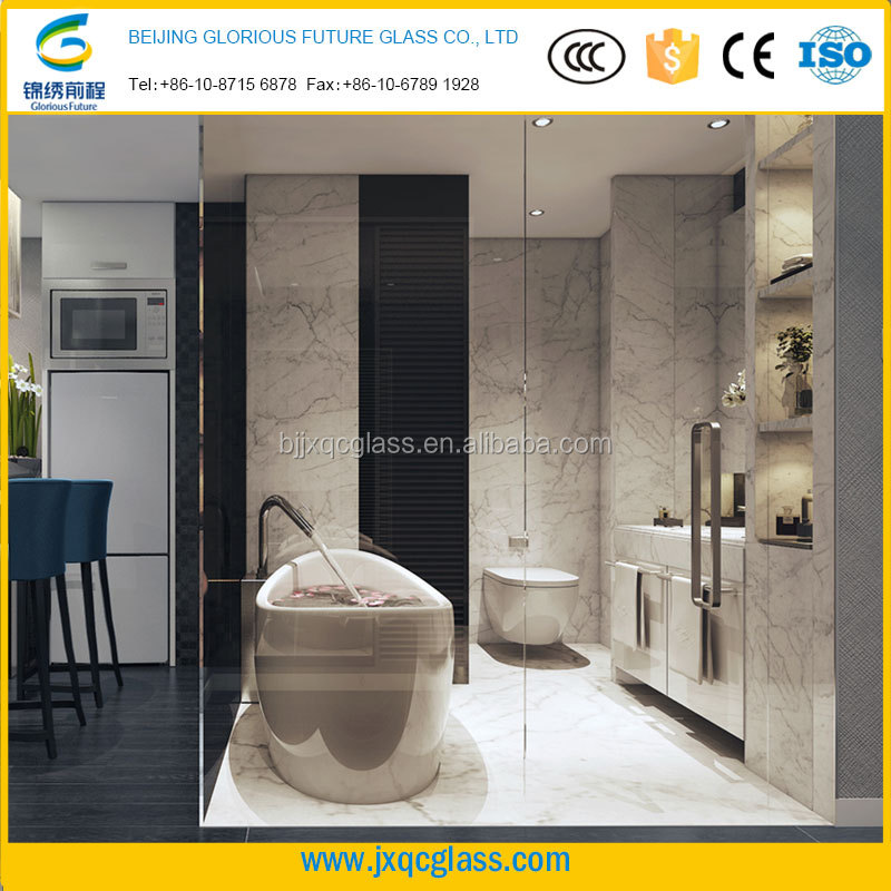 Residential glass tempered glass shower door