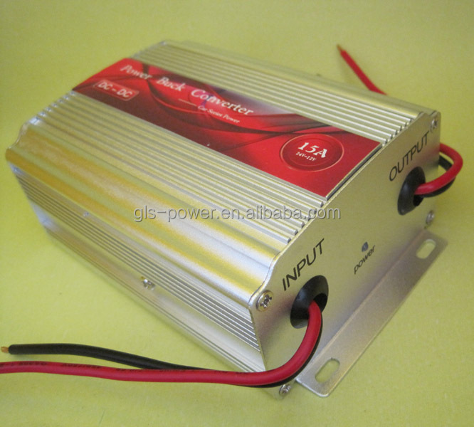 GLS-2412-15A 180W 15A 24V DC to 12V DC voltage converter
