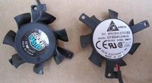 Cooler efb412hha-6r02 graphics card fan 12v 0.15a pitch 35mm diameter 35mm