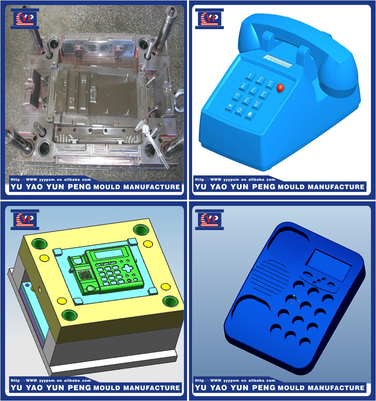 Custom fax machine/telephone case /housing/shell plastic injection mold