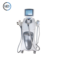 2018 Velashape vacuum roller sliming machine/body contouring shaping machine/vacuum+roller+IR+RF