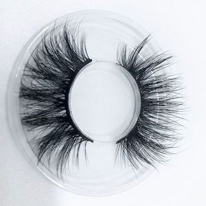 Charming 3d mink eyelashes and private label package