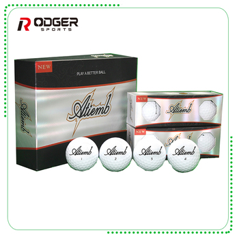 High Quality Free Samples 4 Layer Urethane Tournament Golf Ball With Box Packaging