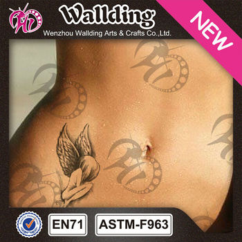 Angel Vorm Buik Tijdelijke Tattoo Sticker Buy Buik Tijdelijke Tattoo Stickerangel Vorm Buik Tijdelijkeangel Ontwerp Buik Tijdelijke Product On