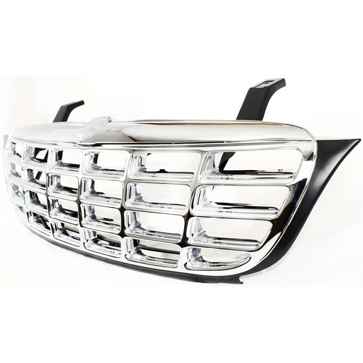 Diften 102-A2630-X01 - New Grille Assembly Grill Chrome Chevrolet Venture 2000 99 98 GM1200435 10440447