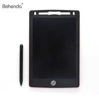 Custom notepads 12 inch LCD writing tablet interactive graphics tablet