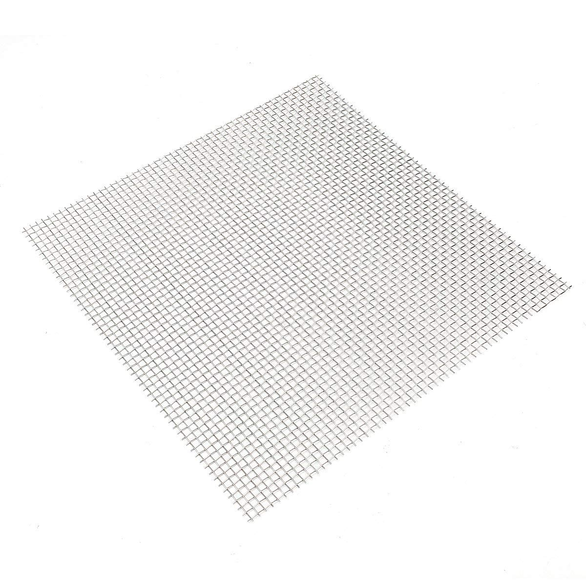 30x30cm Woven Wire 304 Stainless Steel Filtration Grill Sheet Filter 5 - Raw Materials Mesh & Wire Cloth - 1×Stainless Steel 4 Mesh Filtration