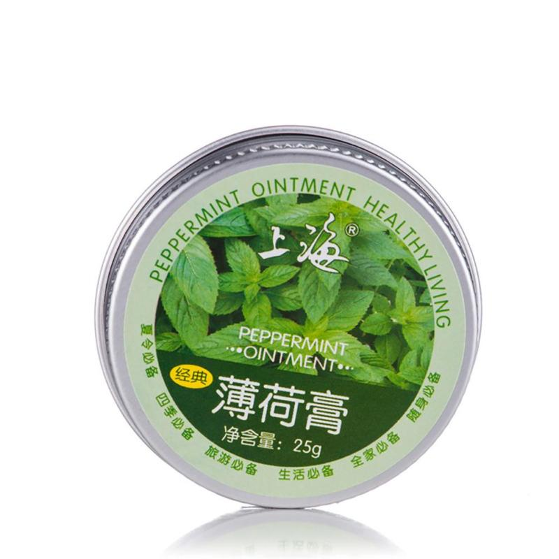 1 Pc soothing mint cream Mentholated Salve relieve Muscle pain stuffy nose Effective For Headache Burning And Mosquito Bites Z3
