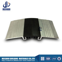ceramic tile floor surface mounted rubber expansion joint covers with easy installation