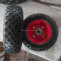 8 inch PU foam wheel for carts