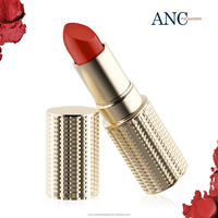 ANC wholesale star product gold luxury empty senior lipstick container holder gorgeous design private label for cosmetics goods