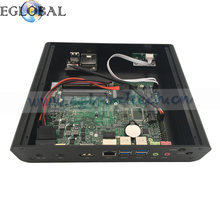 Eglobal Fanless all in one barebone pc kit i7 6500u 6600u gaming pc i7 support dual monitor used pc computer