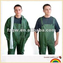 Adultos pvc suspender pantalones rainsuit