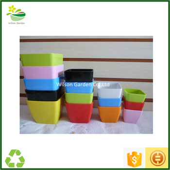 Cheap Flower Pots For Sale Colored Planter Containers