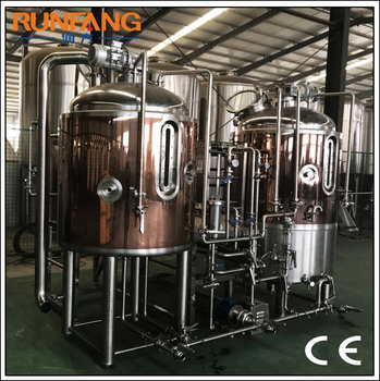 Copper 500L micro brewing beer equipment mini brewery for IPA beer