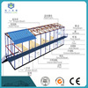 prefabricated steel frame K type house as modular homes sale for North America with great price
