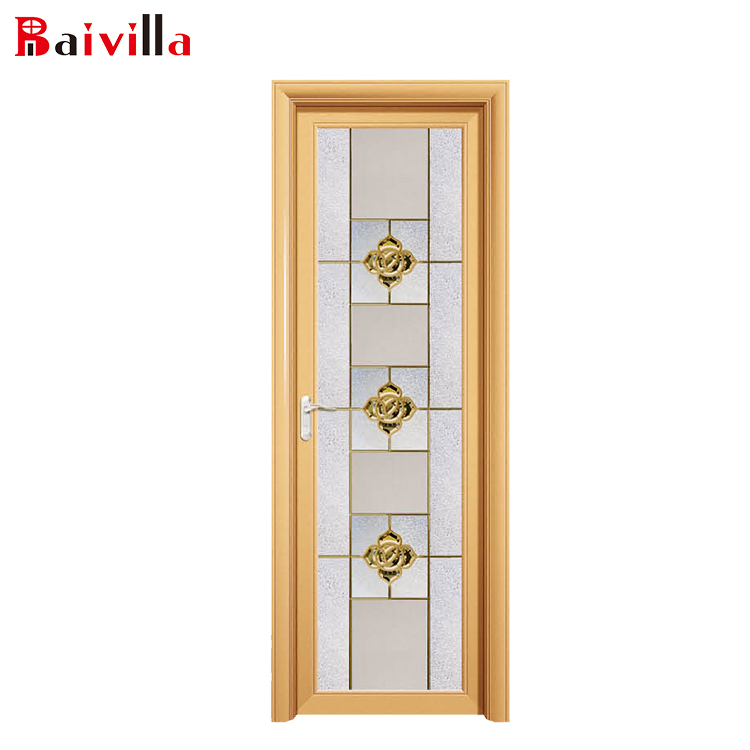 China factory cheap price aluminium toilet door