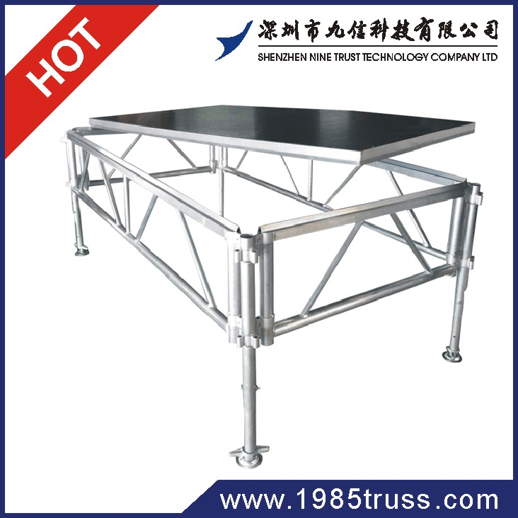 newly aluminum exhibition booth/ dj booth/ mobile stage for sale