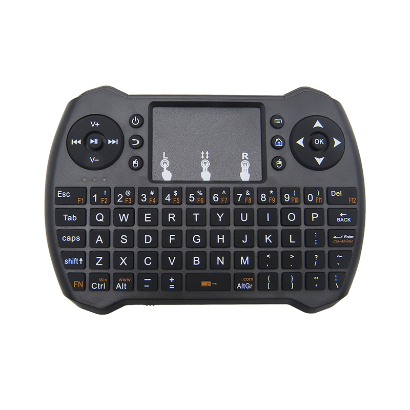 2.4G Mini Wireless Keyboard Touchpad Mouse Without Battery For PC Notebook / Android TV Box HTPC