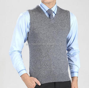 custom mens cool blank plain v-neck uniform sweater vests
