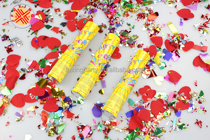 best price custom party popper new design children party popper,birthday party confetti shooter