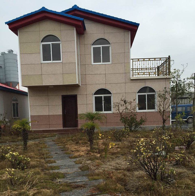 Luxury prefabricated houses villa made in china
