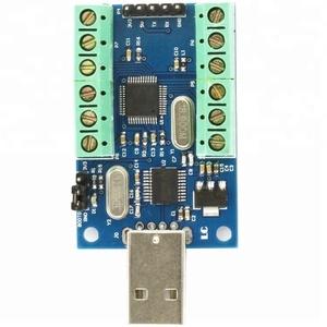 USB interface ad converter 16 bit adc microcontroller adc module