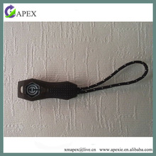 new design injection tpu zip puller with rope