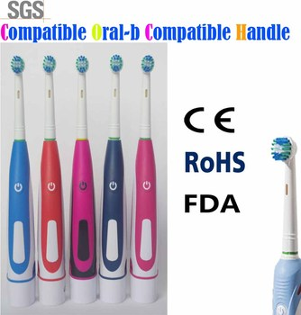 Factory wholesale brush heads Compatible for oral b