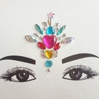 eyes make up gem face crystals bindi forehead stickers for sale