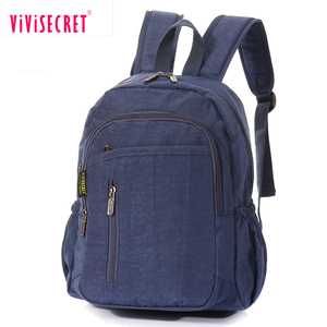 Custom nylon children student school book bags wholesale plain school bag cheap china funny teen school backpacks with logo