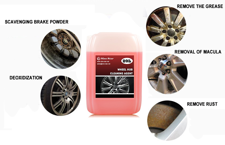 Alibaba best selling Wheel Hub Cleaning Agent (SS-Z2012)